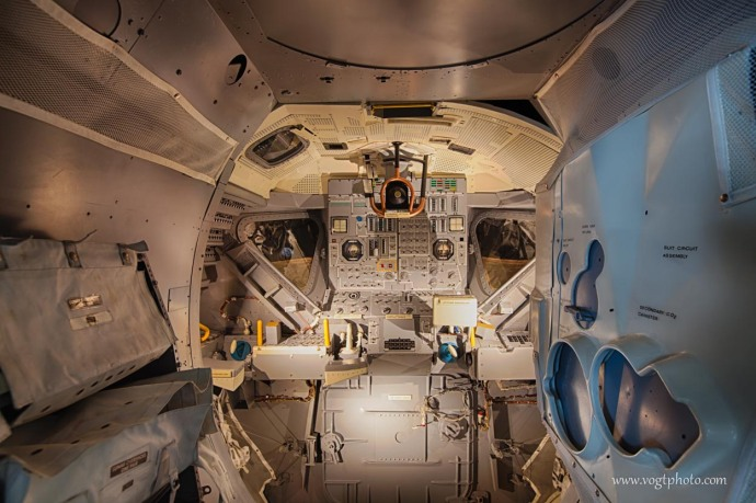 Lunar Module Interior