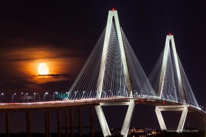 20130823-Charleston SC Bridge Moonrise-01-w