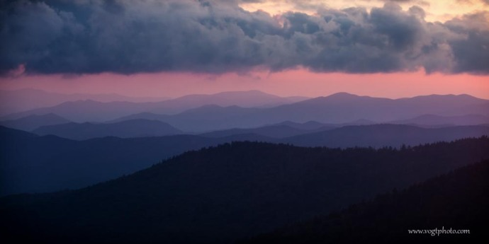 20130825-Clingmans Dome Ridges-01-w