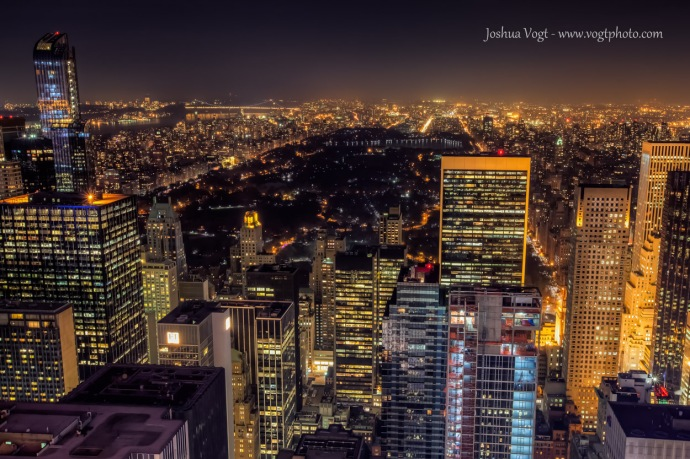 20131115-Central Park Night - w